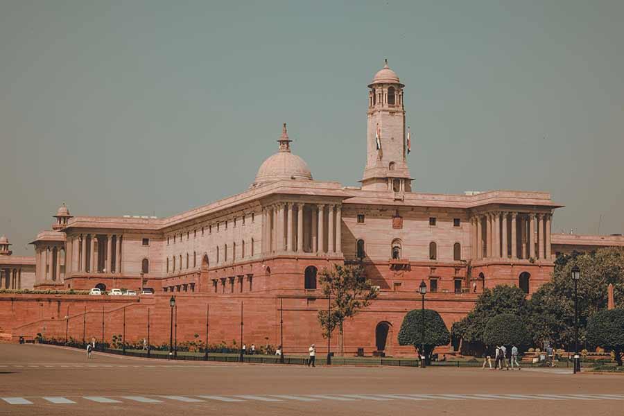 President's House Delhi India