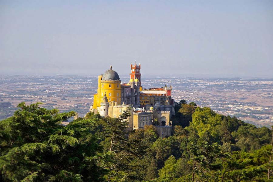 Portugal-Castle-Pena-National-Palace