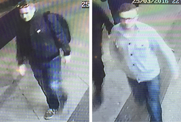 Do you recognise these two men? Please contact the South Wales Police using the details below.
