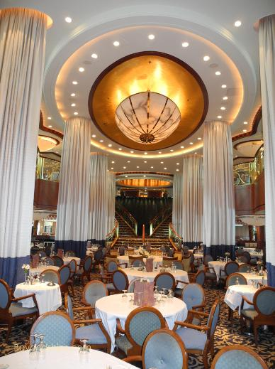 Radiance of the Seas  Photo Tour and Commentary  Dining