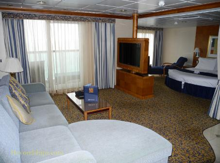 Radiance of the Seas  Photo Tour and Commentary  Accommodations