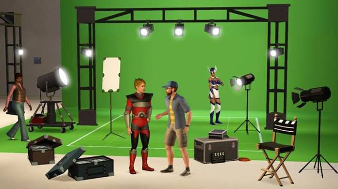 New Screenshot of The Sims 3 Movie Stuff Pack   Beyond Sims