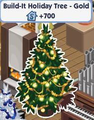 "Sims Social - Free ""Holiday"" Tree"