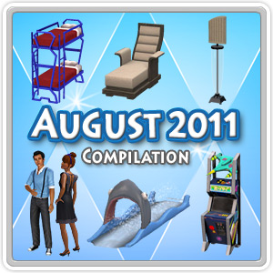 The Sims 3 Store - August 2011 Sets