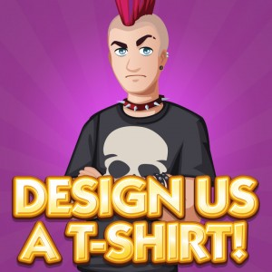 Design A T-Shirt for The Sims Social!