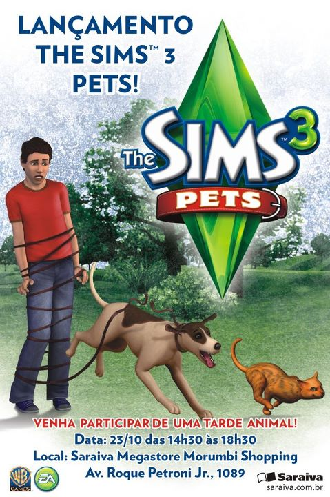 Brazil and The Sims 3 Pets