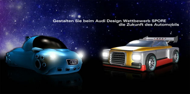 "Audi - ""Build the Car of the Future"" Contest using Spore"