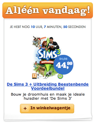 Dutch Simmers - Sims 3 + Pets Daily Deal