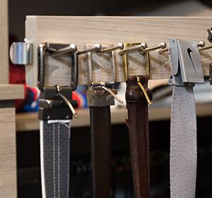 beyond storage belt racks tie racks