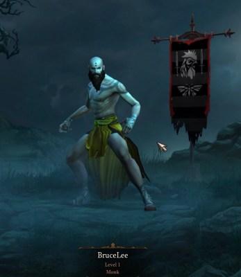 Diablo III Monk