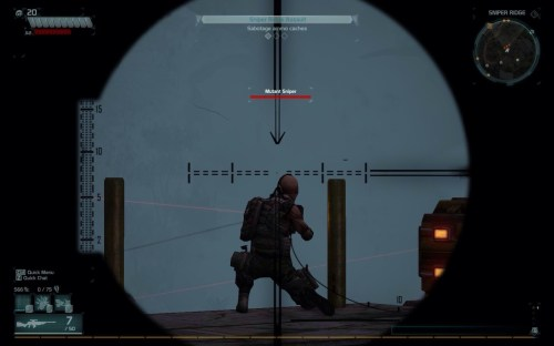 Mutant Sniper at Sniper Ridge