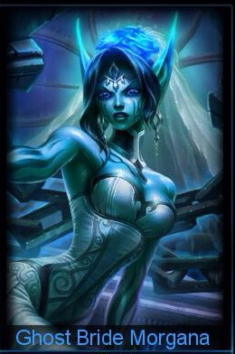 League of Legends - Ghost Bride Morgana