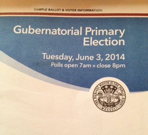 Gubernatorial Primary Election