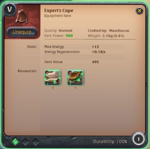 Albion - Expert's Cape
