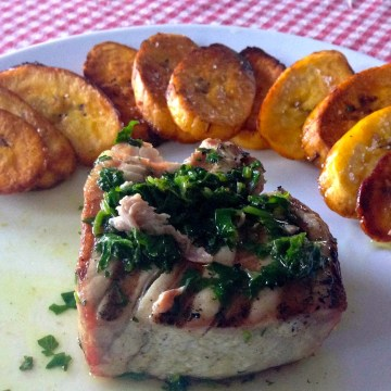 Paleo Fish and Chips With Tuna & Plantains (AIP)