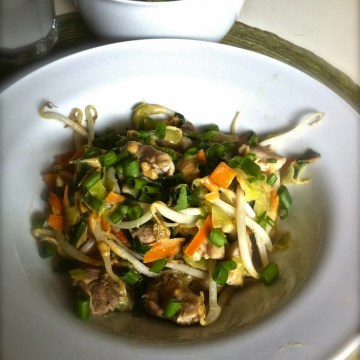 Paleo Asian Pad Thai Noodle Bowl (AIP Friendly)