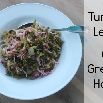 Turnip, Leek, and Greens Hash (AIP/Paleo, Keto)