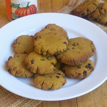 AIP Paleo Anti-Grain Flour Double Pumpkin Spice Cookies (Coconut Free)
