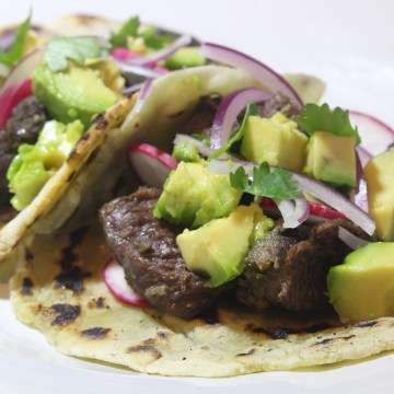 AIP Paleo Beef Cheek Tacos