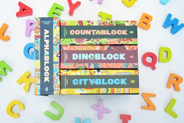 Book Review: Alphablock Countablock Dinoblock CityBlock by Christopher Franceschelli