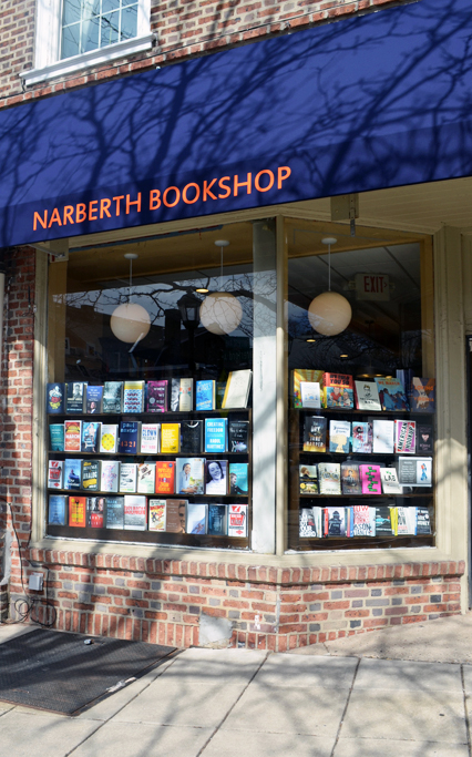 Narberth Bookshop Entrance