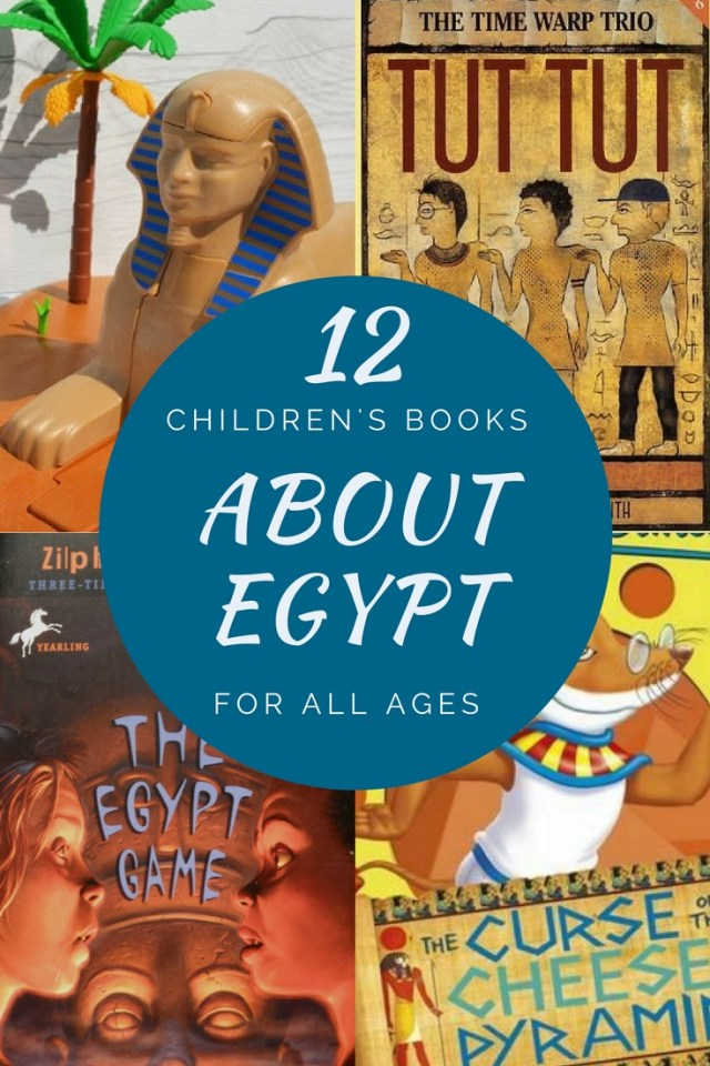 Children's books About Egypt for all ages
