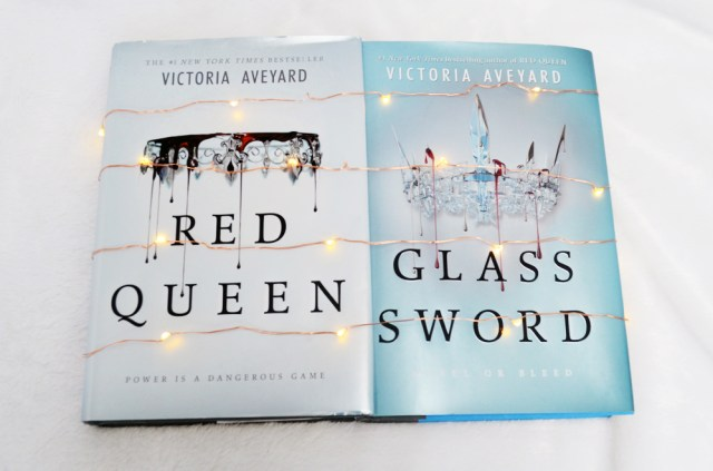Red Queen and Glass Sword by Victoria Aveyard