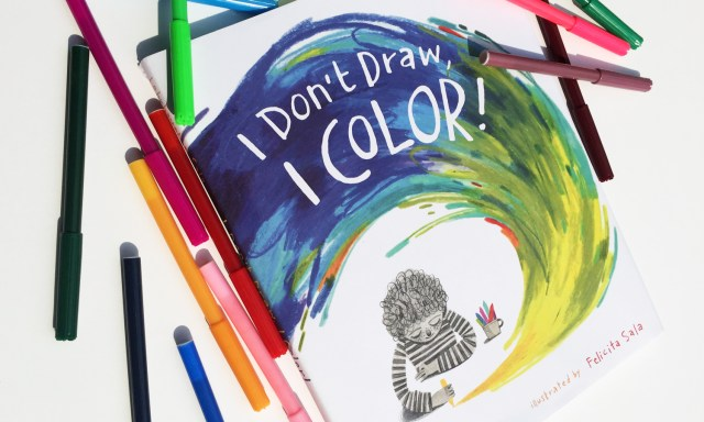 I Don't Draw, I Color! and 7 other books our children are reading this month.