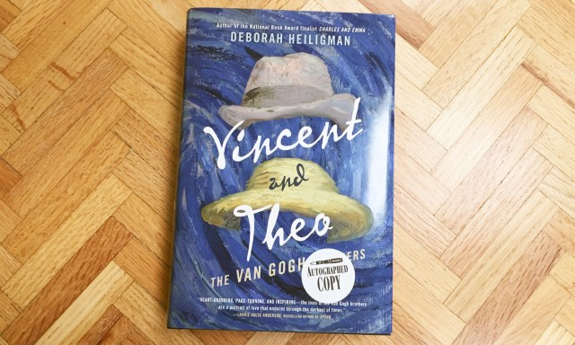 Vincent and Theo and 8 other books reviewed by us this month.