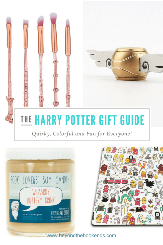 12 unique gift for Harry Potter Fans! Snitch fidget spinners, self-stirring mugs, ombre sweatshirts and more! There is something for everyone on this list!