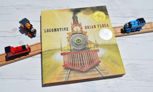 Locomotive - The perfect book for your train lover!