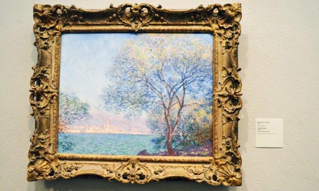 Claude Monet at Philadelphia Art Museum.