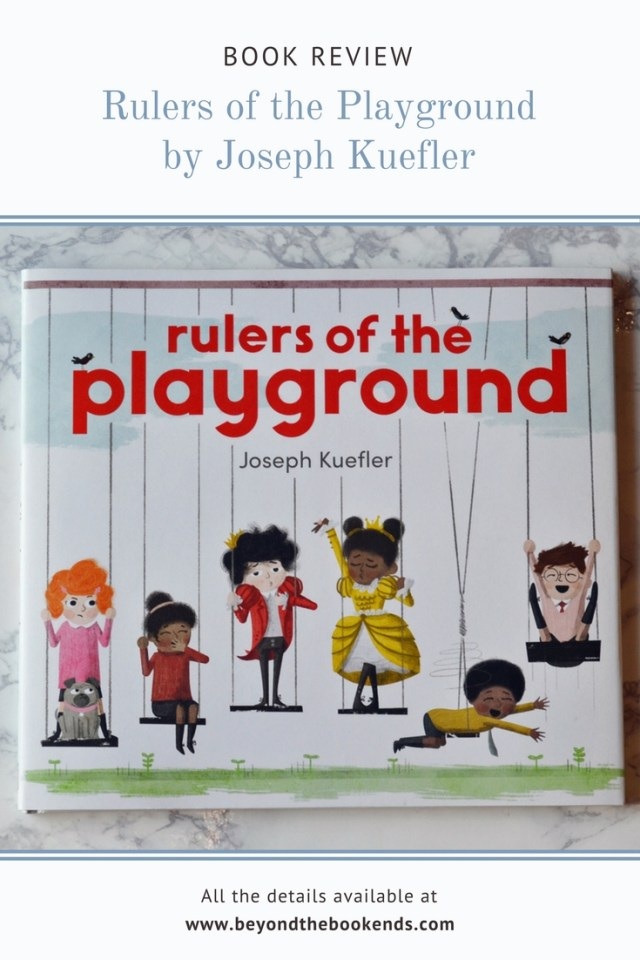 A fantastic book about playground politics. It is fun and lively but can also teach about bullying or even politics in general.