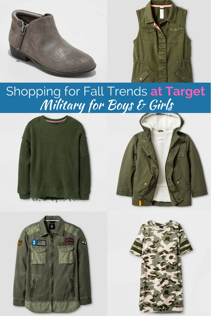 Camo, patches and olive green are all major staples of fall style for kids. Get this cute gear and more at the lowest prices!