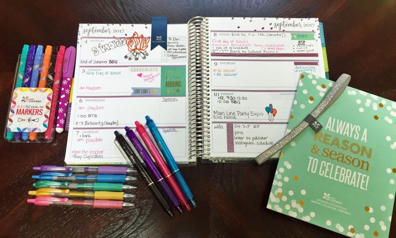 Erin Condren Life Planner vs. Bullet Journaling. IS there a winner when it comes to planning?