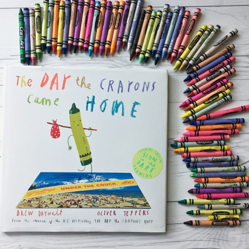Review of the Day the Crayons Quit by Drew Daywalt and a trip the book inspired.