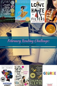 #OWNvoices for the February Reading Challenge. Which book will you read?
