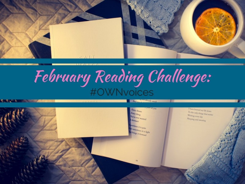 February Reading Challenge #OWNvoices