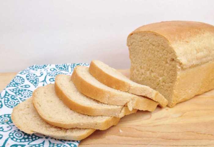 White Sandwich Bread Beyond The Chicken Coop
