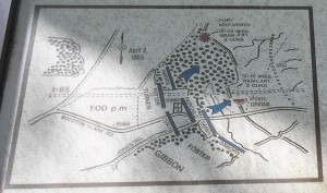 Battle Maps of Forts Whitworth and Gregg