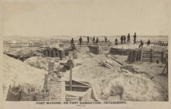 Fort Mahone, April 1865