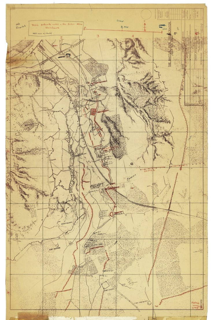 BEARSS Petersburg Maps CRATER Topo SMALL