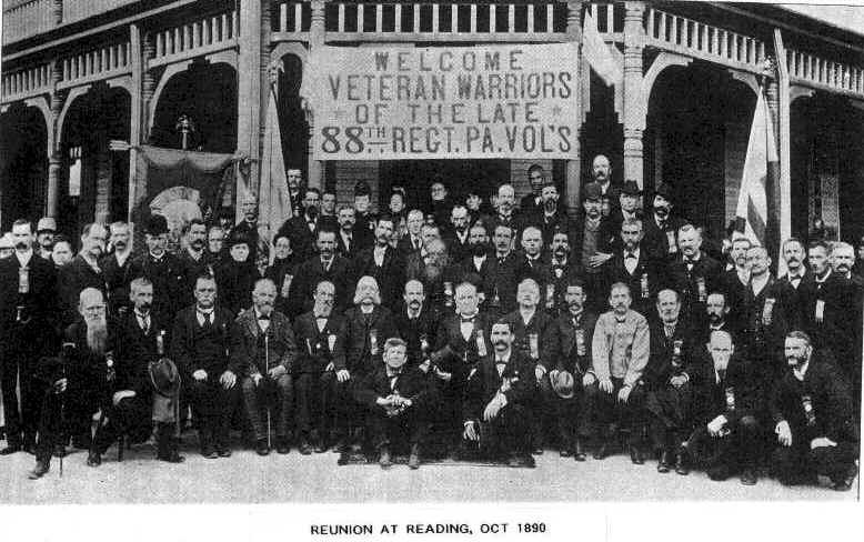 88th PA Reunion 1890