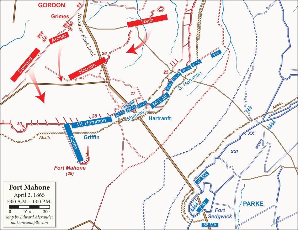 1865-04-02 Fort Mahone, Phase 4