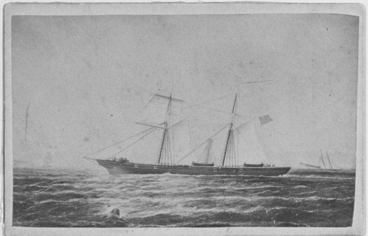 NH 45213 USS PEQUOT (1863-1869)