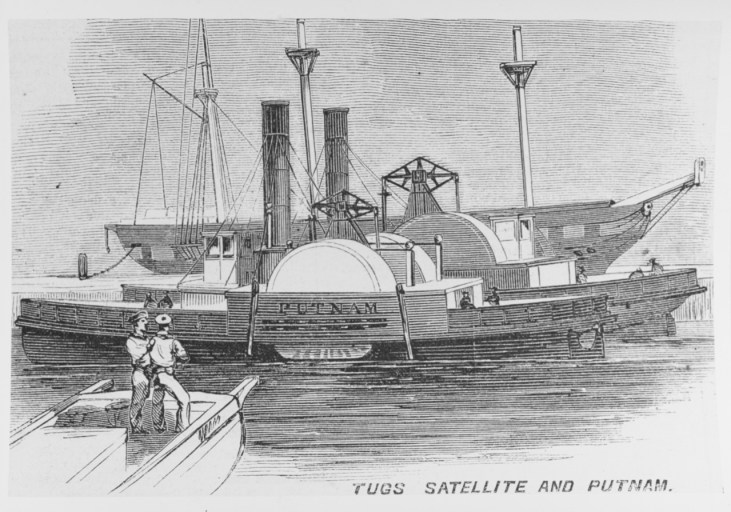 NH 59379: USS William G. Putnam (1861-1865)