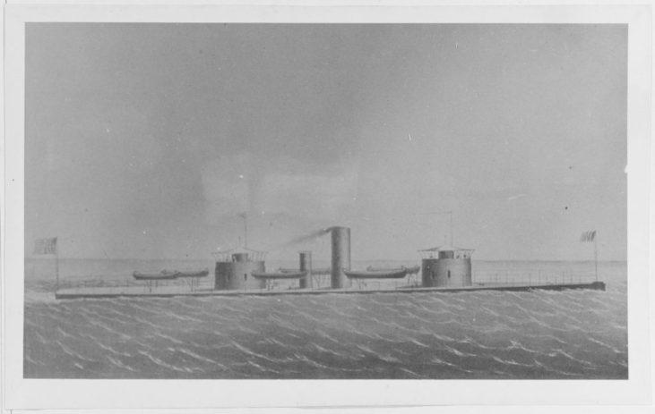 """NH 60657 USS Monadnock."""