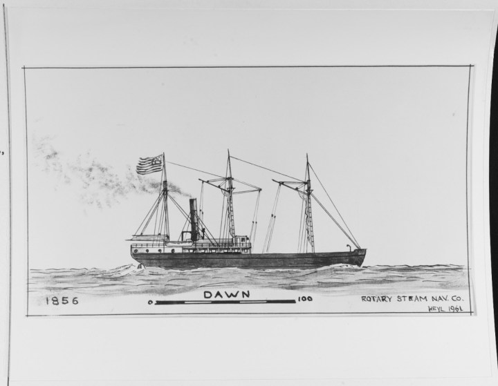 NH 66961 Steamship Dawn
