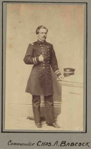 Charles A. Babcock, US Navy, Captain of the USS Morse. (MOLLUS Vol. 109, Page 5623)