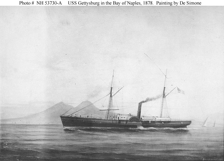NH 53730-A: USS Gettysburg.